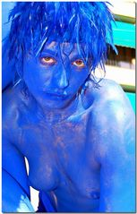 Ragazza blu --