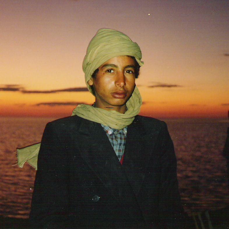 Ragazzo tunisino