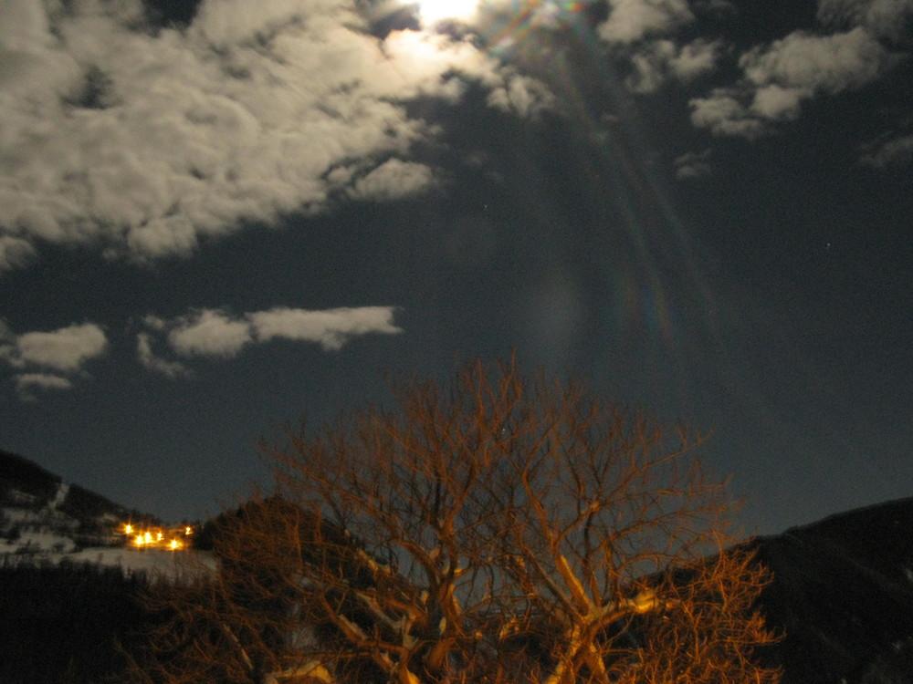 Raggio di luna a Ravarano (Parma)