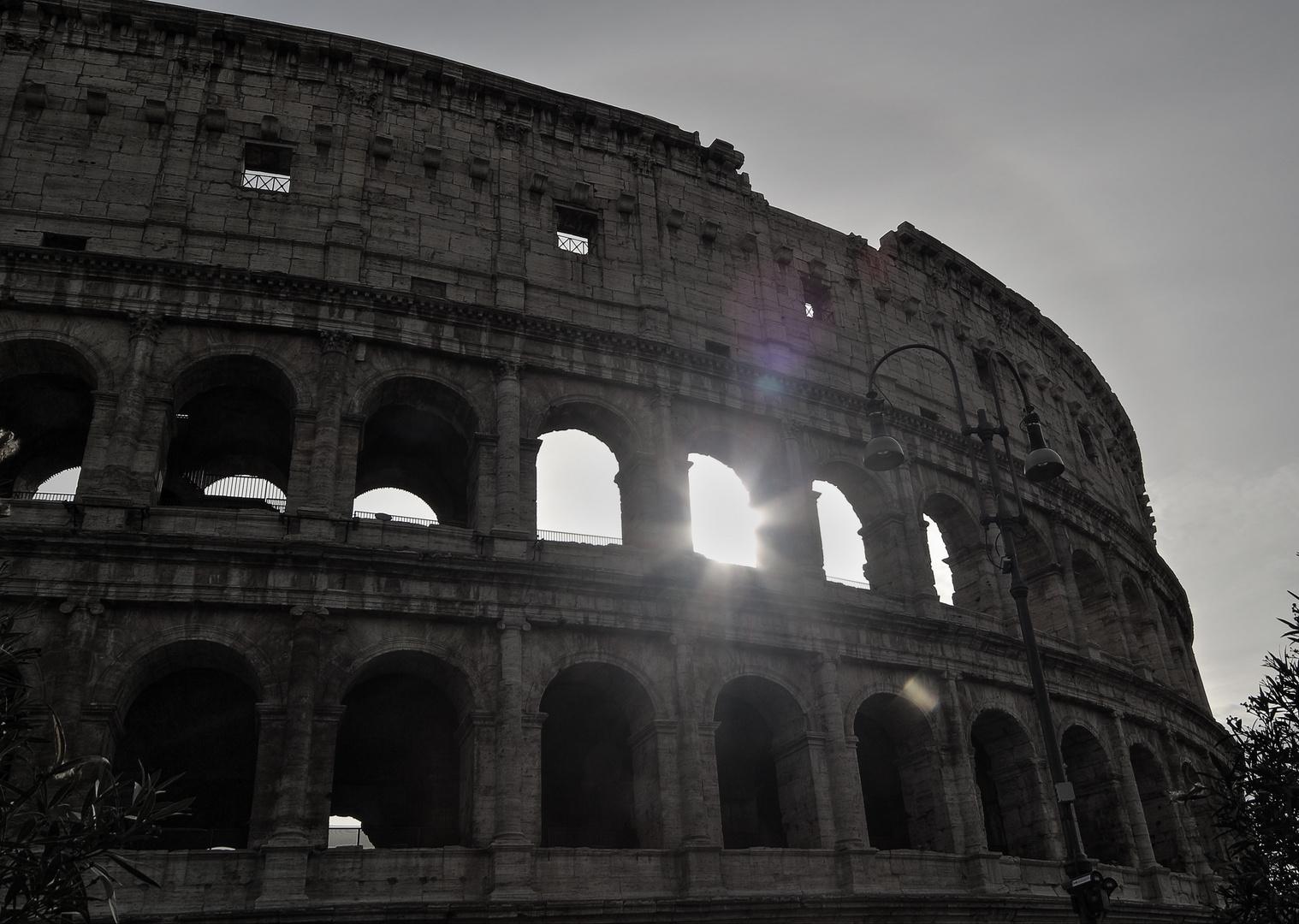 Raggio di sole sulla storia di Roma