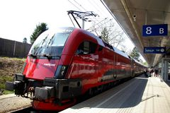 Railjet Budapest- Salzburg