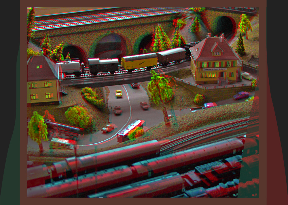 Railroad Scale Model 3D
