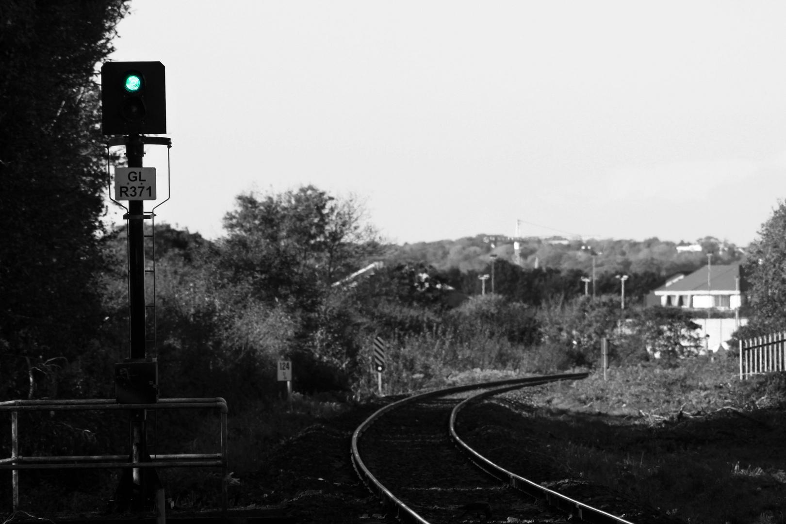 Railroad tracks to nowhere 2
