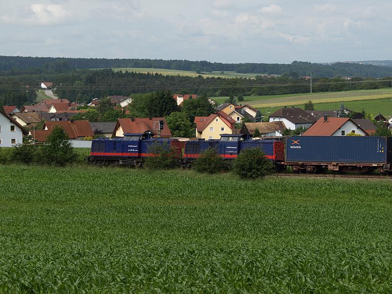 Railtransport 745 702 und 501