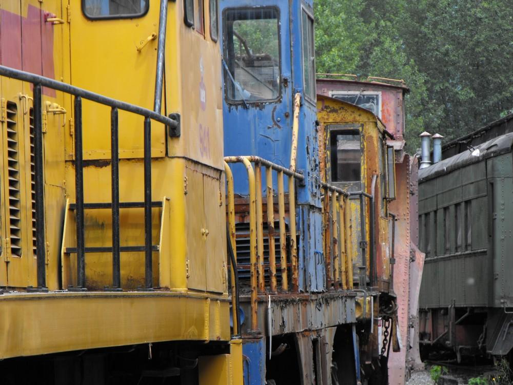 Railway Museum Squamish BC July 2009