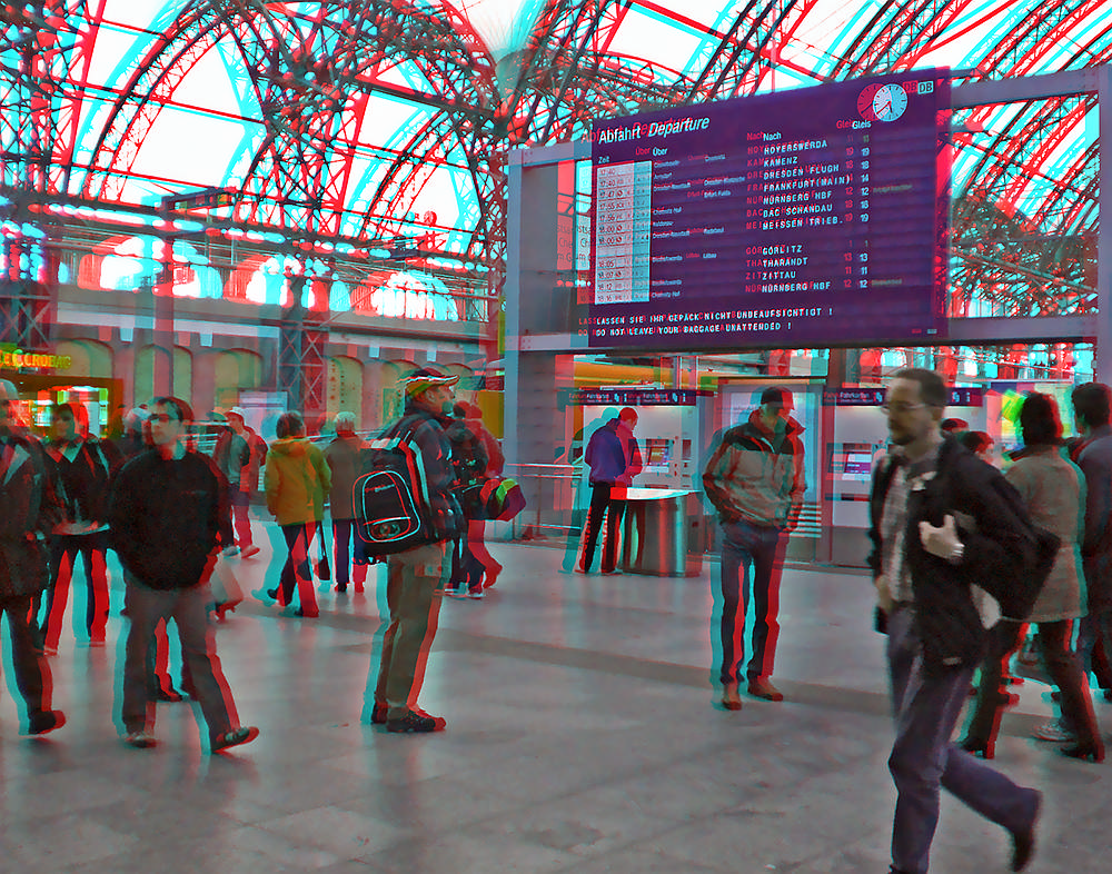 Railway Station 3D
