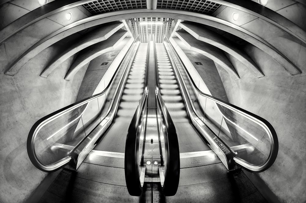- Railway Station XV -