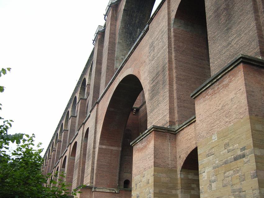 Railwaybridge over the Goeltzschvalley in Saxonia - Germany