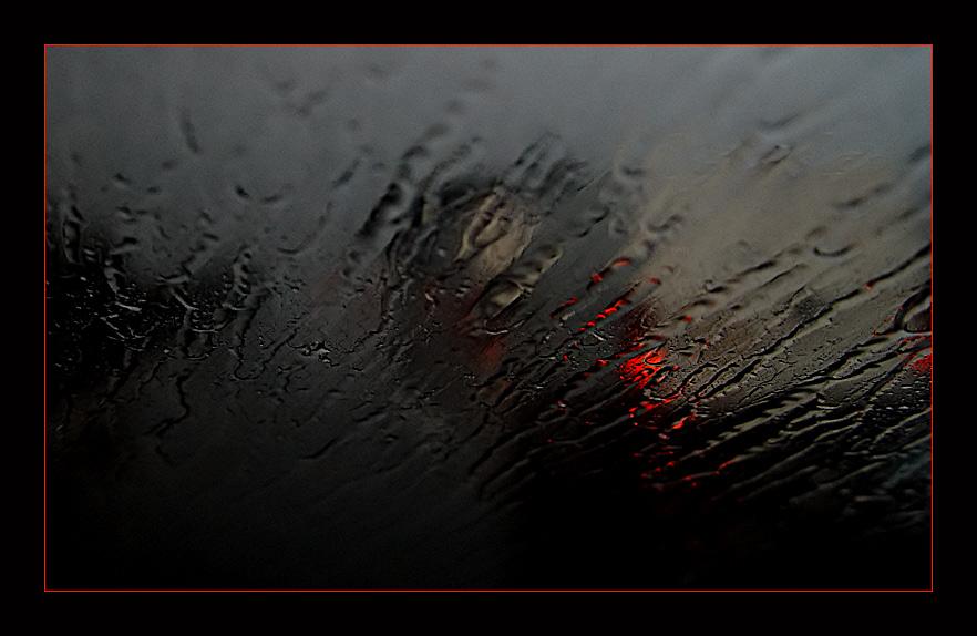 rain @140 km/h
