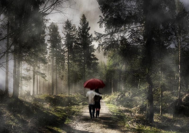 Rain and sun...