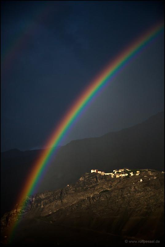 rain in Zanskar
