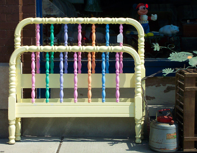 Rainbow Bedframe