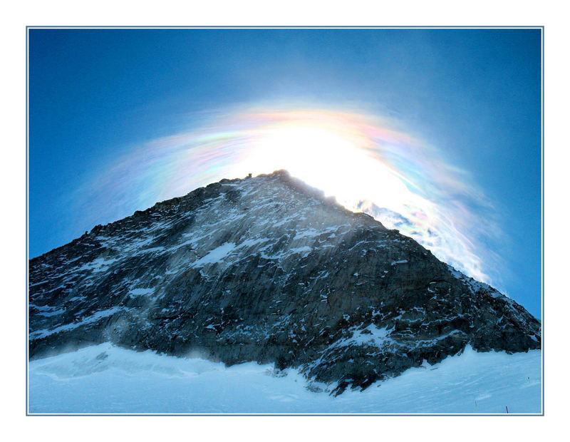 Rainbow Cloud above Ortler