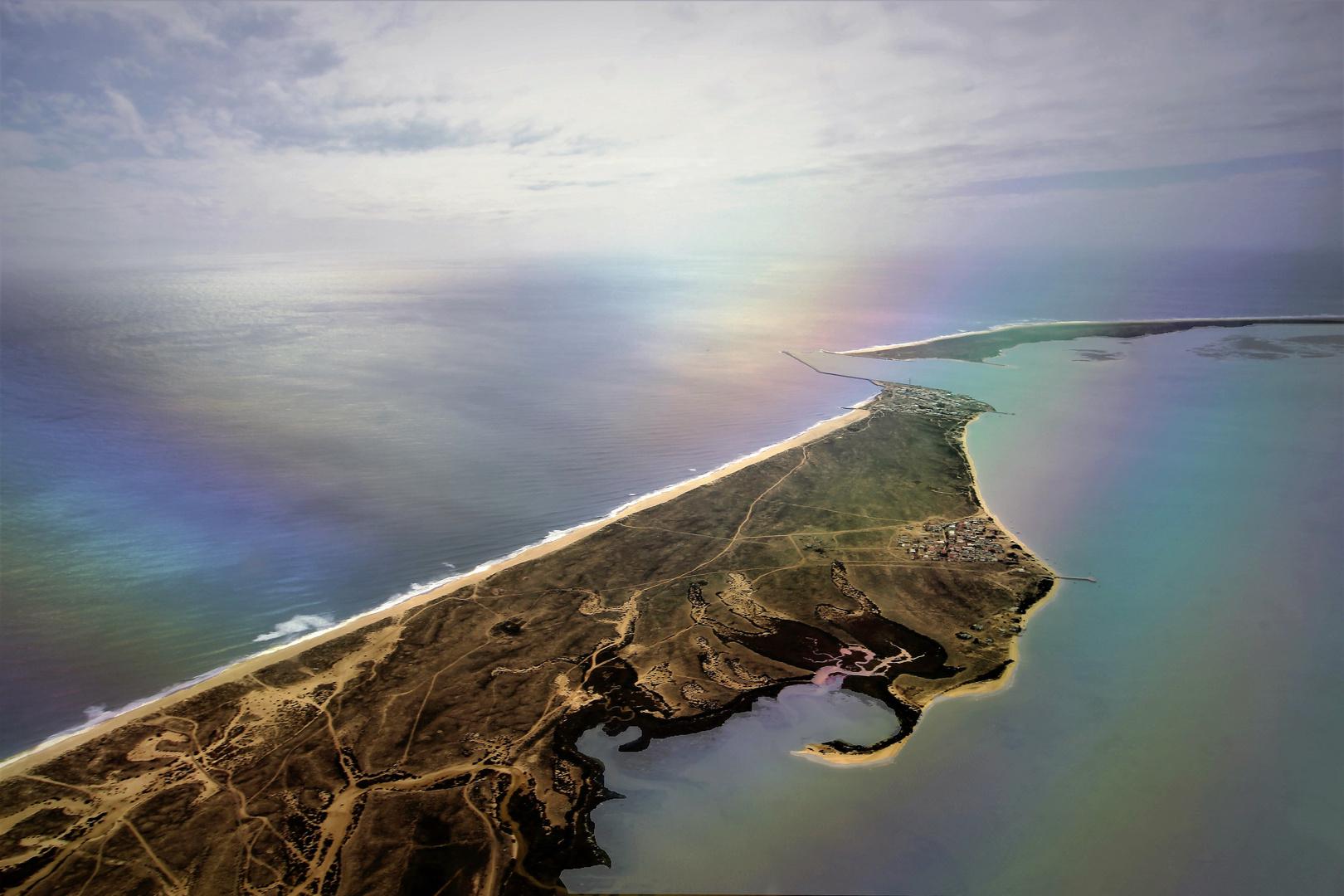rainbow on the islands