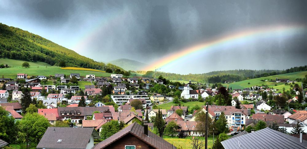 Rainbow over Erlinsbach