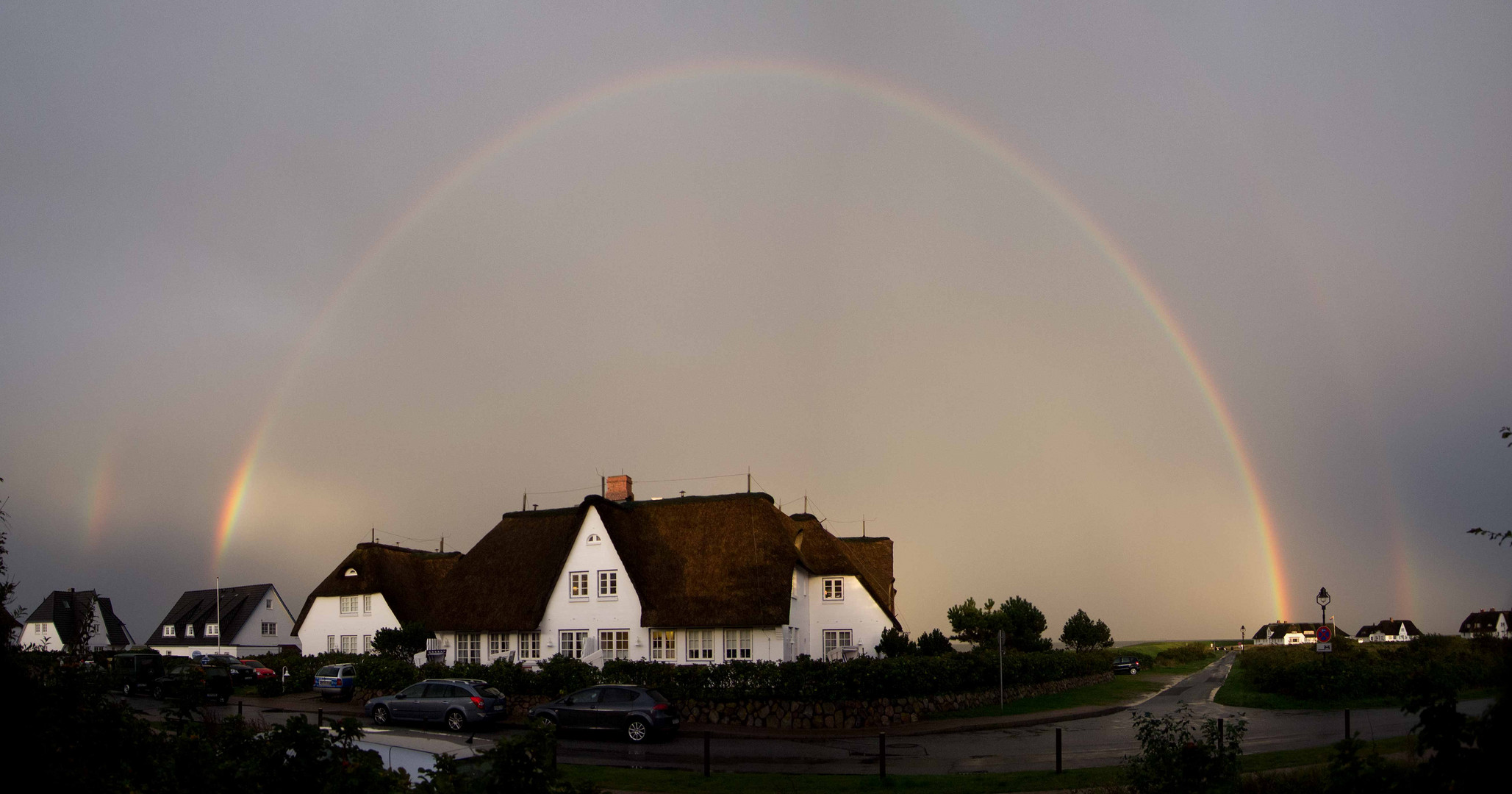 Rainbow over Rantum