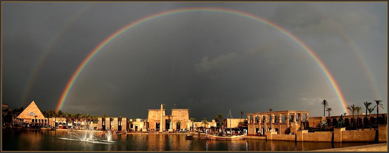 Rainbow over Terra-Mitica