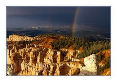 Rainbow Point, Bryce National Park, Utah