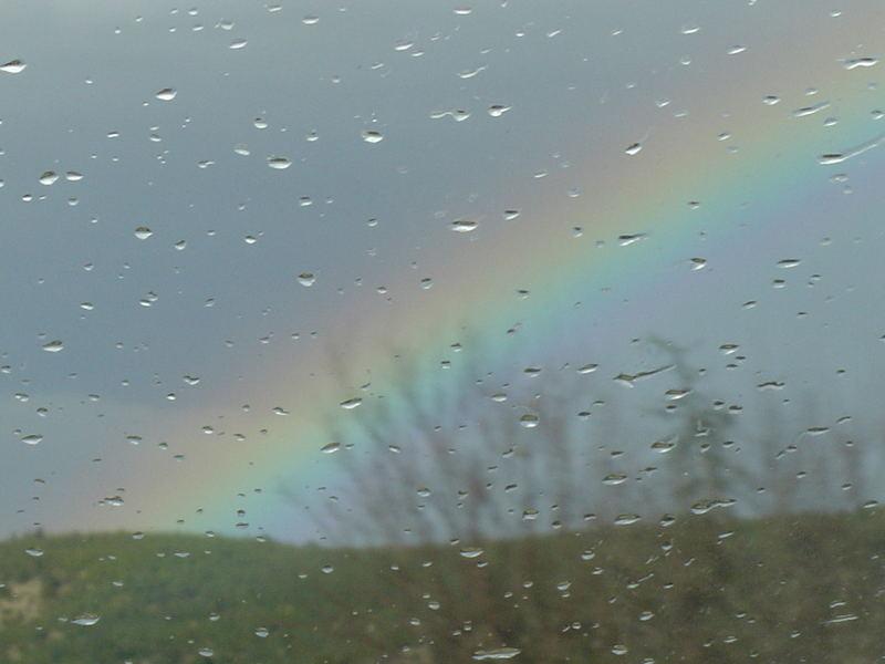 ...rainbow rainy...