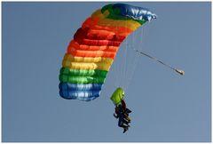 Rainbow Skydiver