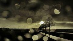 Raindrops on the Autoscheibe :)