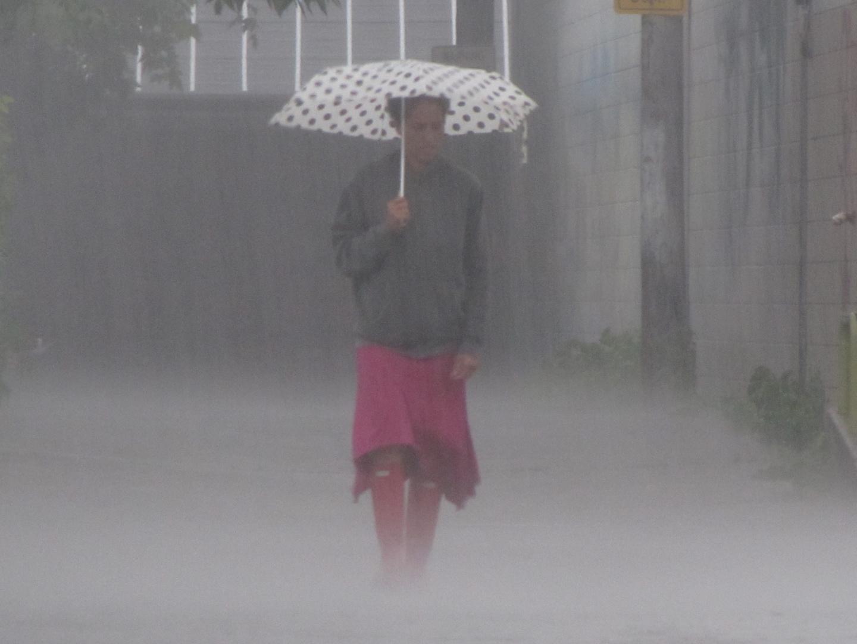 Raining........