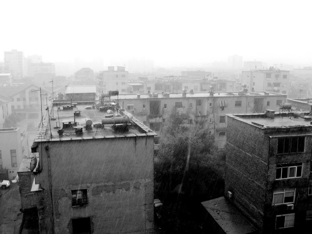 raining in Tirana