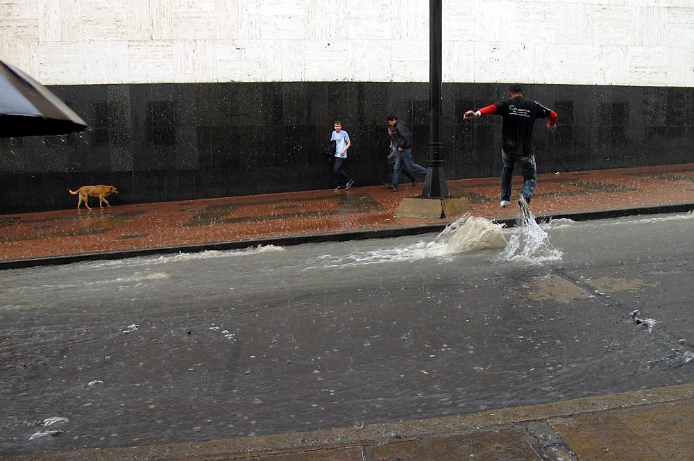 Rainy day in Bogota, 11.4.2012