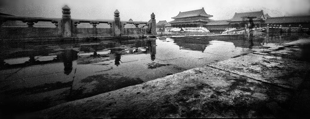Rainy days in Beijing