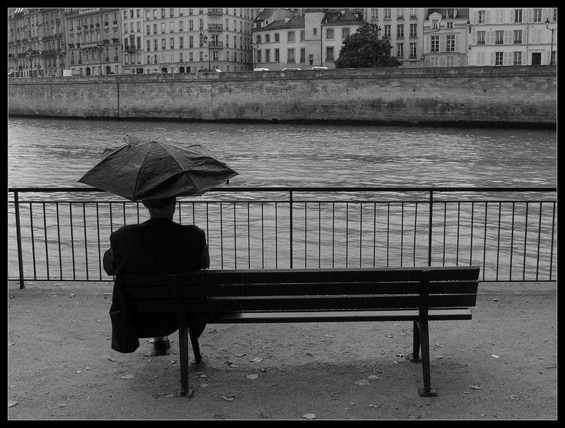rainy loneliness