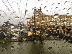 Rainy View to the Bridge