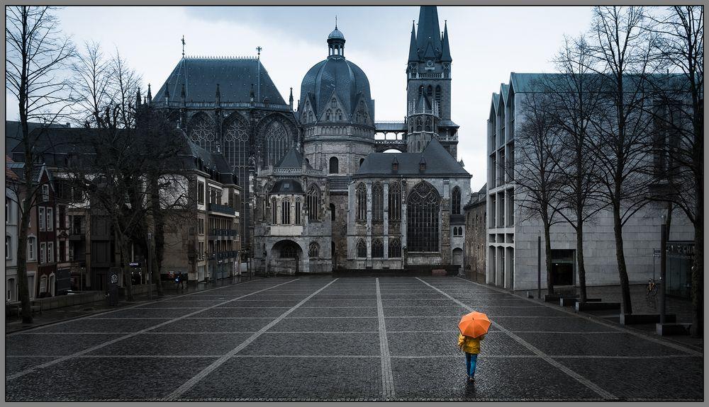 Rainy Weather in Aachen