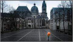 Rainy Weather in Aachen