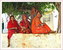 Rajasthani-Frauen