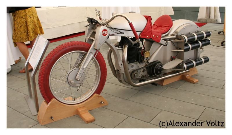Raketen Motorrad