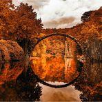 Rakotzbrücke - Indian Summer