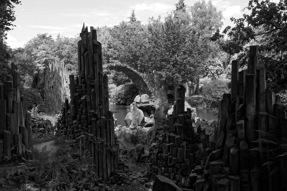 Rakotzbrücke Rhododendronpark Kromlau