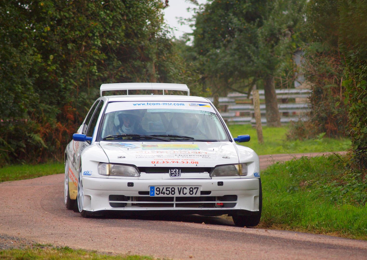 Rallye du Pays d'Auge (11 - 12 09 2010)