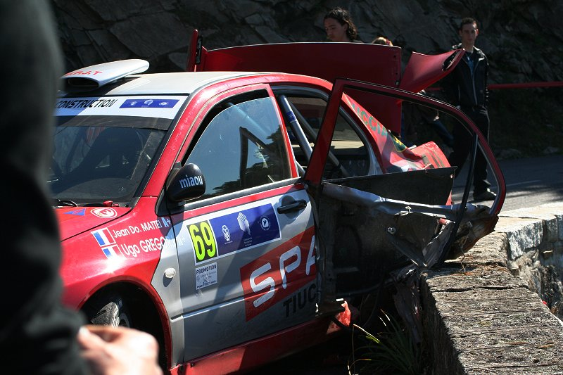 Rallye hautnah erleben - Glück gehabt