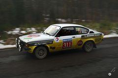 Rallye Kadett im Einsatz ...