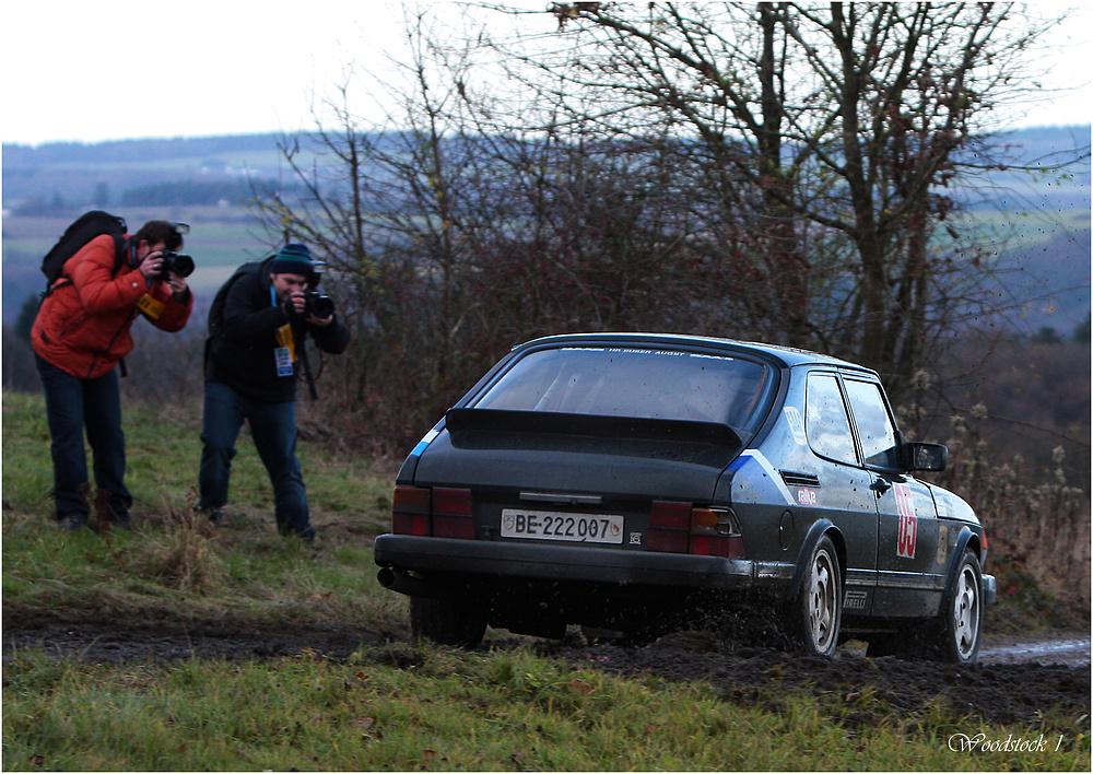 Rallyefotografen auf der Rallye Köln-Ahrweiler