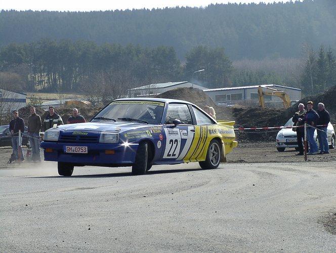 Rallyeteam Jäkel in Action