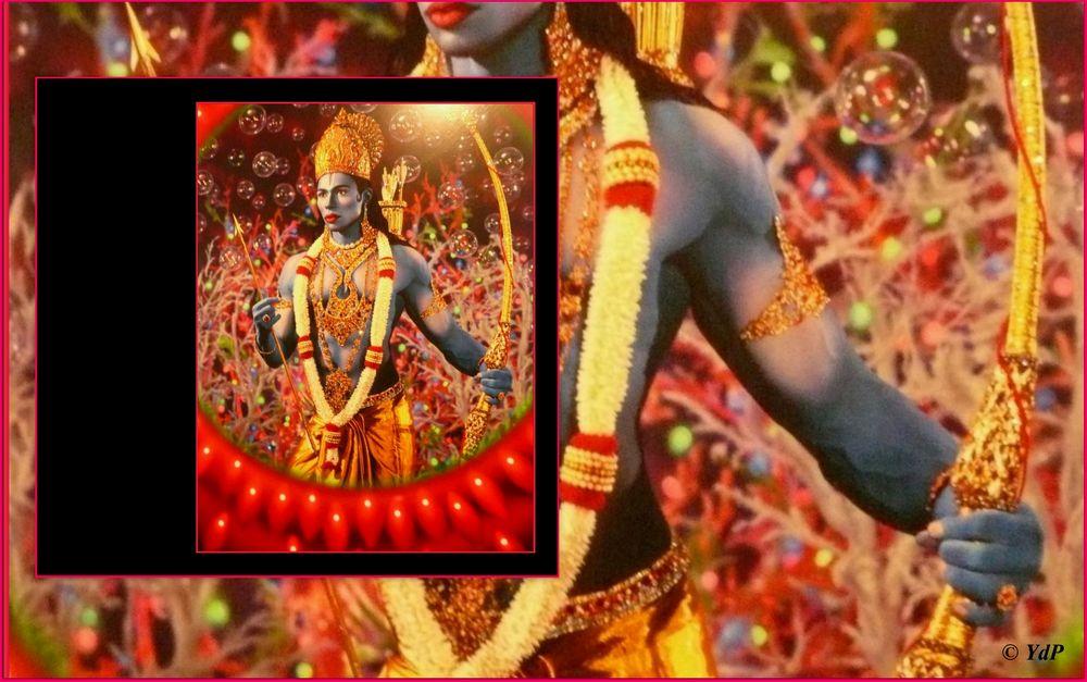 Rama & son arc d'or...