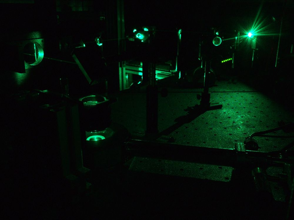 Raman Spektrometer mit Mikrokryostat