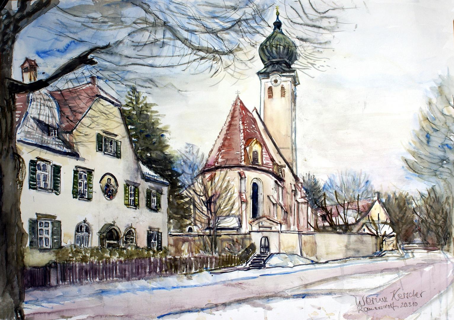 Ramersdorfer Kirche - München,