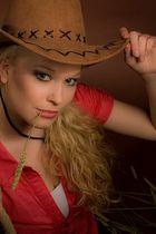 Ramona als Cowgirl