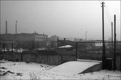 Rampe im Schnee