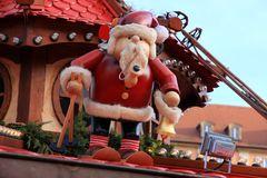 Ramponierter Weihnachtsmann