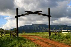 Ranch im Hinterland von Kauai
