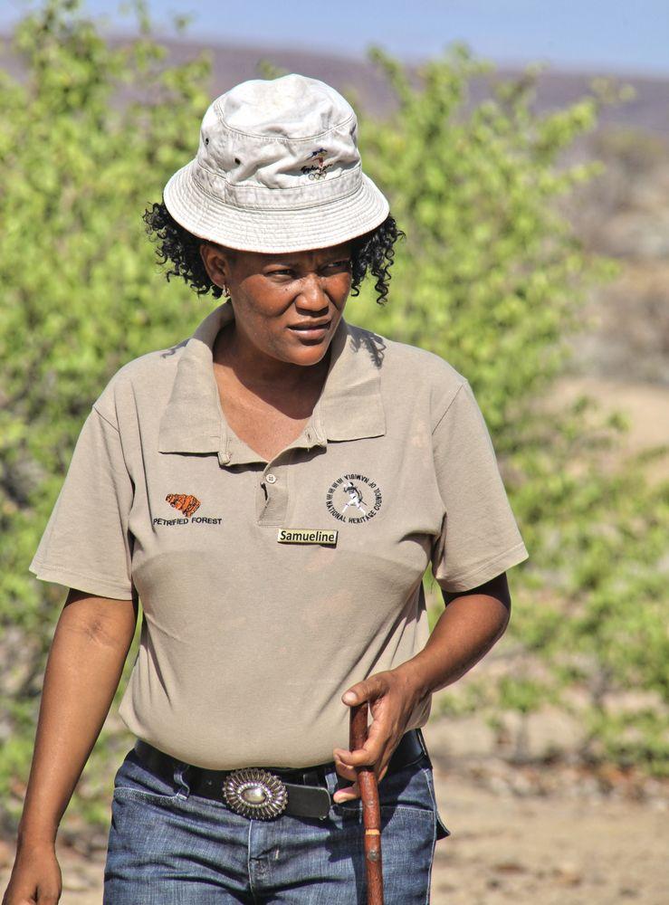 Rangerin, Namibia - Petrified Forest